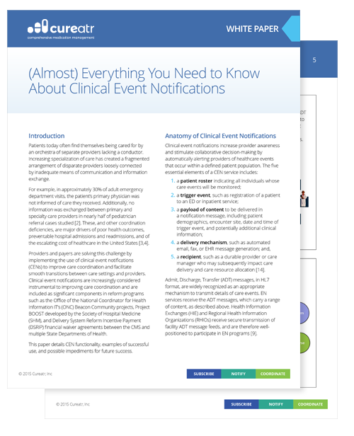 Cureatr-White Paper-(Almost) Everything You Need to Know About Clinical Event Notifications-resource graphic
