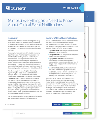 (Almost) Everything You Need to Know About Clinical Event Notifications