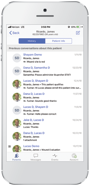Secure HIPAA-Compliant Messaging