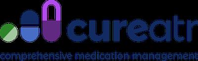 Cureatr logo - tagline-1